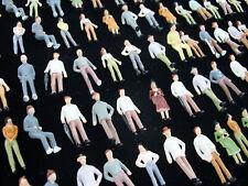 100 Figuren handbemalt sitzend & stehend 1:75 #5BB7-25