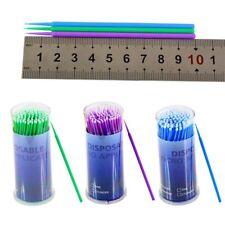 100Pcs Dental Disposable Micro Applicator Eyelash Extension Brush Stick
