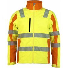 Trendline Warnschutz Softshelljacke Signalfarbe Prevent® gelb orange