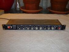 Ashly SC-63, Blueface Version, Parametric Equalizer, Vintage Rack, Repair As Is