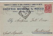 #NAPOLI: FABBRICA CANDELE DI CERA- ONOFRIO MESSINA FU ROCCO