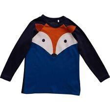Green Cotton Freds World T-Shirt Langarmshirt Fuchs Fox 68 74 80 86 92 98 104