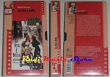 film VHS LA VITA E' BELLA R. Begnini CARTONATA CORRIERE DELLA SERA (F16*)*no dvd