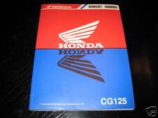 Werkstatthandbuch Honda CG 125 Stand 1997