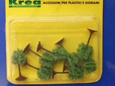 Alberi verde primavera per modellismo pz. 8 - h.cm.4  -1/160-N - Krea