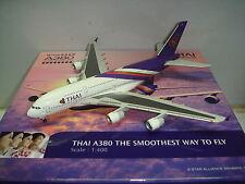 "Aero le Plane 400 Thai Airways International TG A380-800  ""2004s color"" 1:400"
