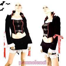 Costume donna vestito carnevale VAMPIRA vampiro halloween CI-221