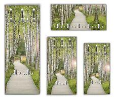 Wandgarderobe Birkenwald WG104  Garderobe Flurgarderobe  Wandpaneel