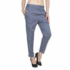Women Trouser Women Pants Cotton Lycra Pant for Women Gray Ladies Pant