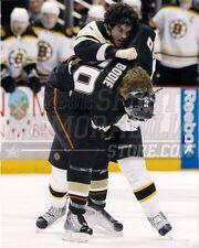 Adam Mcquaid Boston Bruins fight punch no helmet 8x10 11x14 16x20 photo 0978