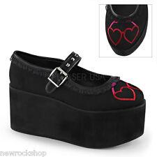 """High Heels Pleaser Shoes Damenschuhe Demonia """"CLICK-02-1"""""""