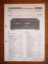 Service MANUAL Grundig CCF 5500 cassette, ORIGINALE