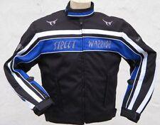 Trike kurze sportliche Motorrad  Motorradjacke FreizeitjackeTextiljacke blau