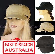 Girls Ladies Woman Newsboy Bakerboy Baseball Head Cover Sun Visor Hat Cap Cotton