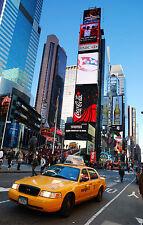 Adesivo parete gigante New York Taxi 180x260cm ref 149
