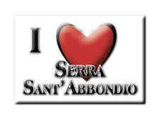 CALAMITA MARCHE FRIDGE MAGNET MAGNETE SOUVENIR LOVE SERRA SANT'ABBONDIO (PS)