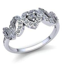2ctw Redondo Brillante Corte Diamante Mujer Ovalado Corazón Fantasía Alianza 18k
