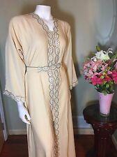 Khaleeji Abaya Arabic ButtonUp Half Open Jilbab Kaftan Made in Dubai S, M, L, XL