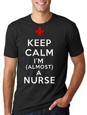 Nursing School student T-shirt Future Nurse T-shirt Keep calm almost a Nurse Tee