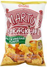 OISHI Marty's Cracklin Vegetarian Chicharon (Salt & Vinegar, Spicy Vinegar)