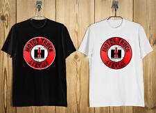 IH International Harvester Motor Truck Service T-Shirt Black White