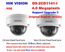 Hikvision English version DS-2CD1141-I 4MP IP camera CCTV security IP67 2.8/4mm