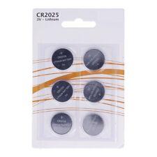 Paquete de 6 Pilas CR2025 3V Tipo Botón Litio en Blister Gran Calidad a4060 nt