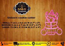 Baby Unicorn Cookie Cutters Horse Shape Pastry Fondant Sugarcraft Play Doh UK