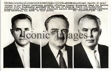 1964 NEWS PHOTO-MOSCOW KREMLIN-3 LEADER ALEKSEI KOSYGIN