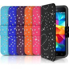 Etui Portefeuille Motif Diamant Universel L couleur pour Motorola Moto G