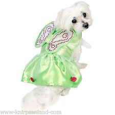 Disney Tinker Bell Hundekostüm Hunde Kostüm Karneval Hund Kleidung Fee Flügel