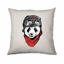 Cool panda illustration design cushion cover pillowcase linen home decor