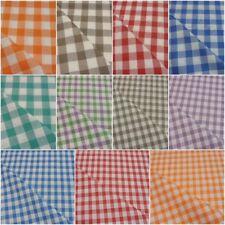Tessuto per tovaglie a quadretti campagnola 100%cotone H.140 cm vendita al metro