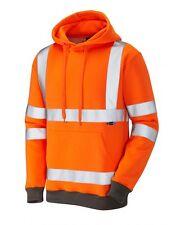 Leo Workwear goodleigh SS04 haute visibilité Sweat-shirt à capuche CLASSE 3