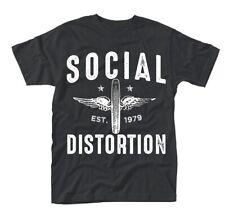 Social Distortion-winged WHEEL T-shirt