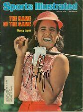 NANCY LOPEZ Signed 1978 Sports Illustrated LPGA GOLF