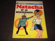 Walthéry Jidehem Natacha N°2 Et le Maharadjah Ed Originale