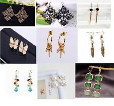 New lady Fashion Crystal Rhinestone Ear Stud Studs Earrings  Dangle Eardrop  Uk