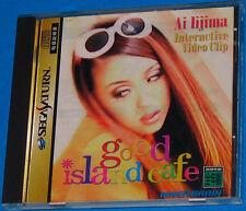 Ai Iijima Good Island Café - Sega Saturn - JAP Japan