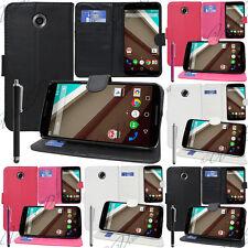 Accessoires Etui Coque Housse Portefeuille video pour Motorola Nexus 6/ Nexus X