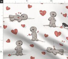 Voodoo Doll Julies S Broken Heart Pin Cushion Fabric Printed by Spoonflower Bty