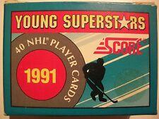 1991 SCORE YOUNG SUPERSTARS FACTORY SET  !!