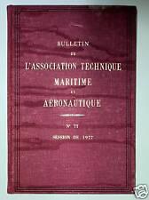 BULLETIN TECHNIQUE MARITIME & AERONAUTIQUE Bateau Avion