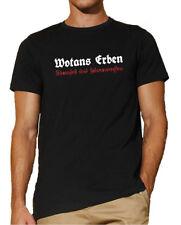 Wotans Erben | T-Shirt | Gothic | Germanen | Wotan | Odin | Sturmfest   726-0-
