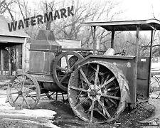 Photograph Vintage Advance Rumely Farm Tractor  Iowa 1936   8x10