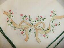 C4 Johnson Eternal Beau pottery matching items - tablecloth, placemats 1D4A