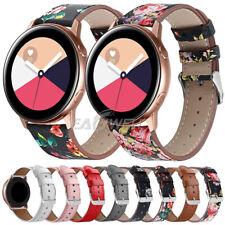 Genuine Leather Quick Install Watch Band For Garmin Vivomove HR / Forerunner 645