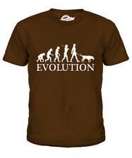 BEAUCERON EVOLUTION OF MAN KIDS T-SHIRT TEE TOP DOG BEAUCE GIFT WALKER WALKING