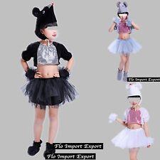 Topo Gonna Top Saggio Danza Costume Topolino Travestimento Mouse Costume ANIM003
