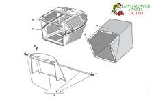 CHAMPION r484tr SP Cortacésped Gasolina Hierba Caja Montaje Piezas Originales